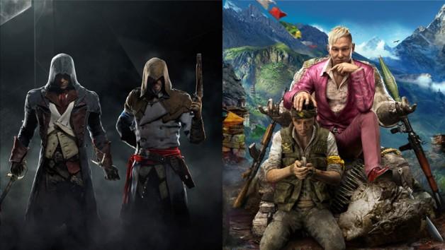 Assassins-Creed-Unity-y-Far-Cry-4