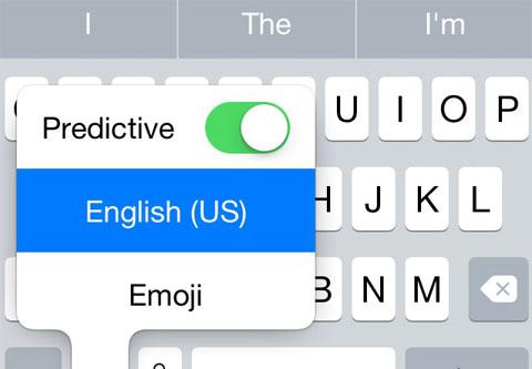 teclado predictivo ios 8 beta 5