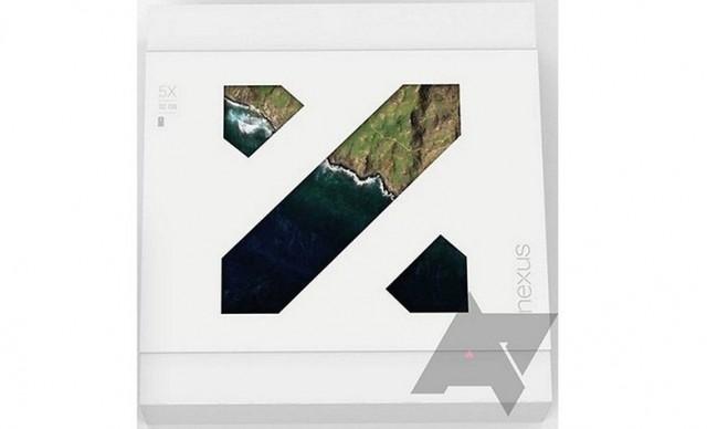 Nexus 5X caja