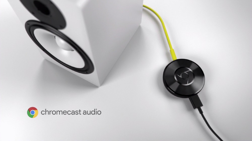 Google presento el Chromecast Audio