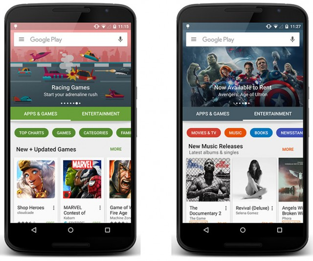 play store new