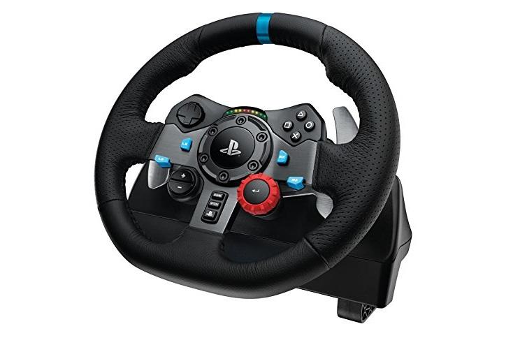 El nuevo volante de carreras de Logitech