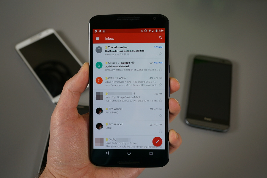 Gmail en Android
