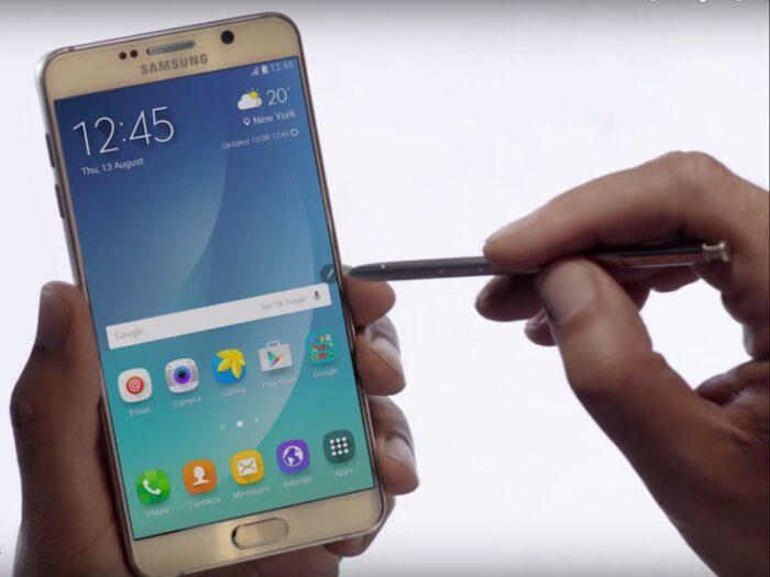 Samsung Galaxy Note 6 un smartphone de grandes dimensiones