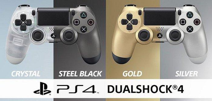 nuevos mandos dualshock 4