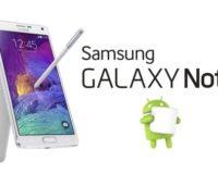 Galaxy Note 4 recibe actualización Marshmallow (Verizon)