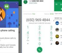 Hangouts Dialer: App para hacer llamadas gratis con wifi