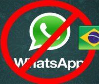 WhatsApp bloqueado en Brasil nuevamente por orden juez
