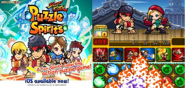 Street Fighter Puzzle Spirits disponible para iOS (Juego Gratis)