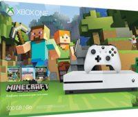 Xbox One S Minecraft Bundle disponible en América (Europa en Octubre)