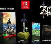 Zelda Breath of the Wild sale el 3 de marzo para Nintendo Switch