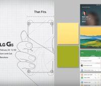 Video del LG UX 6.0 funcionando en el LG G6, publicado por LG Mobile