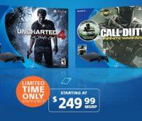 PS4 Slim: Dos nuevos bundles en oferta a $249.99 por tiempo limitado