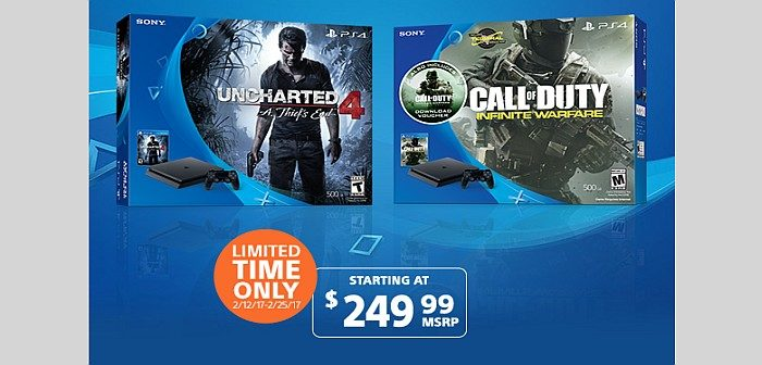 oferta ps4 slim bundle infinite warfare