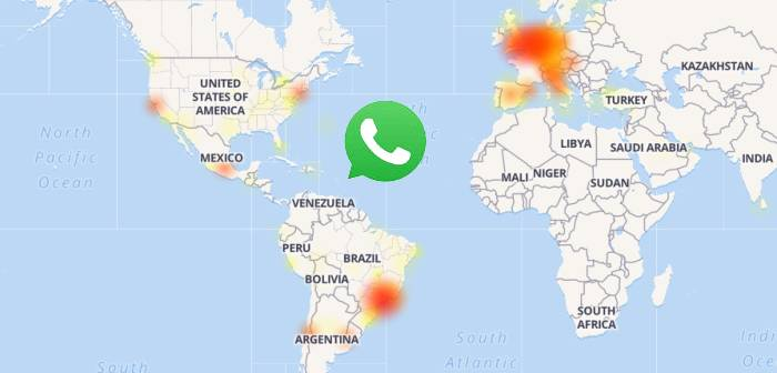 se cayó whatsapp down