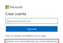 Crear cuenta Hotmail correo electrónico