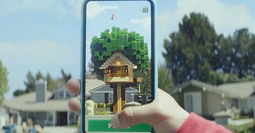 La nueva versión del Sandbox Minecraft soportará AR en tu iPhone