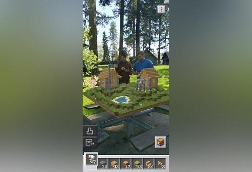 Permitirá sumergir más al jugador de Minecraft con sistema de construcción usando AR