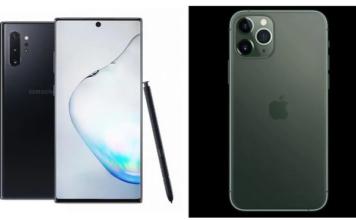 iPhone 11 Pro vs Galaxy Note 10 Plus