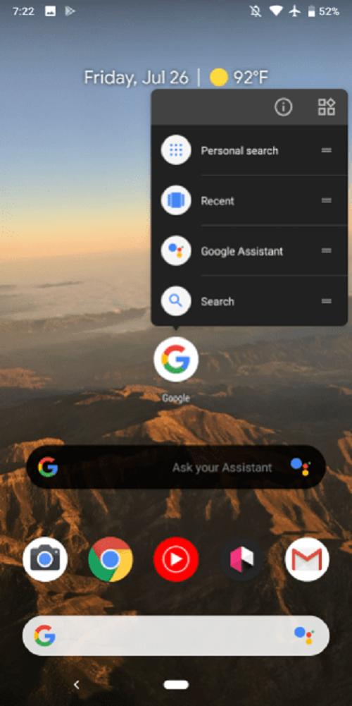 Ahora siempre se usará el Google Assistant
