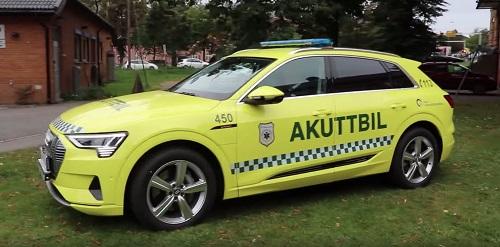 Audi e-tron llega como el SUV para el sector salud en Noruega