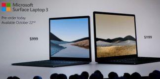 Microsoft lanza la nueva Surface Laptop 3 burlándose de Apple