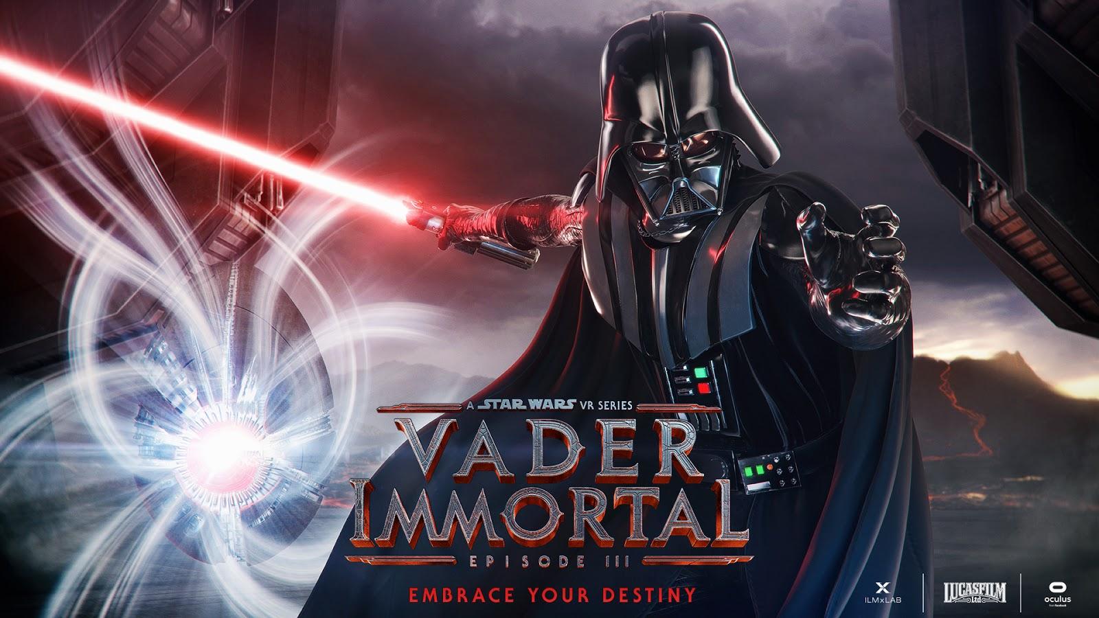 Vader Immortal ya está disponible en PlayStation VR