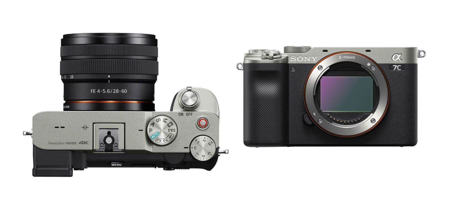 Sony presenta Alpha 7C, una cámara de fotograma más pequeña y ligera