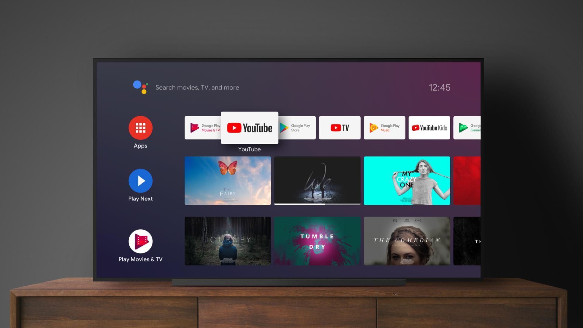 Google prueba una nueva interfaz en YouTube para Android TV