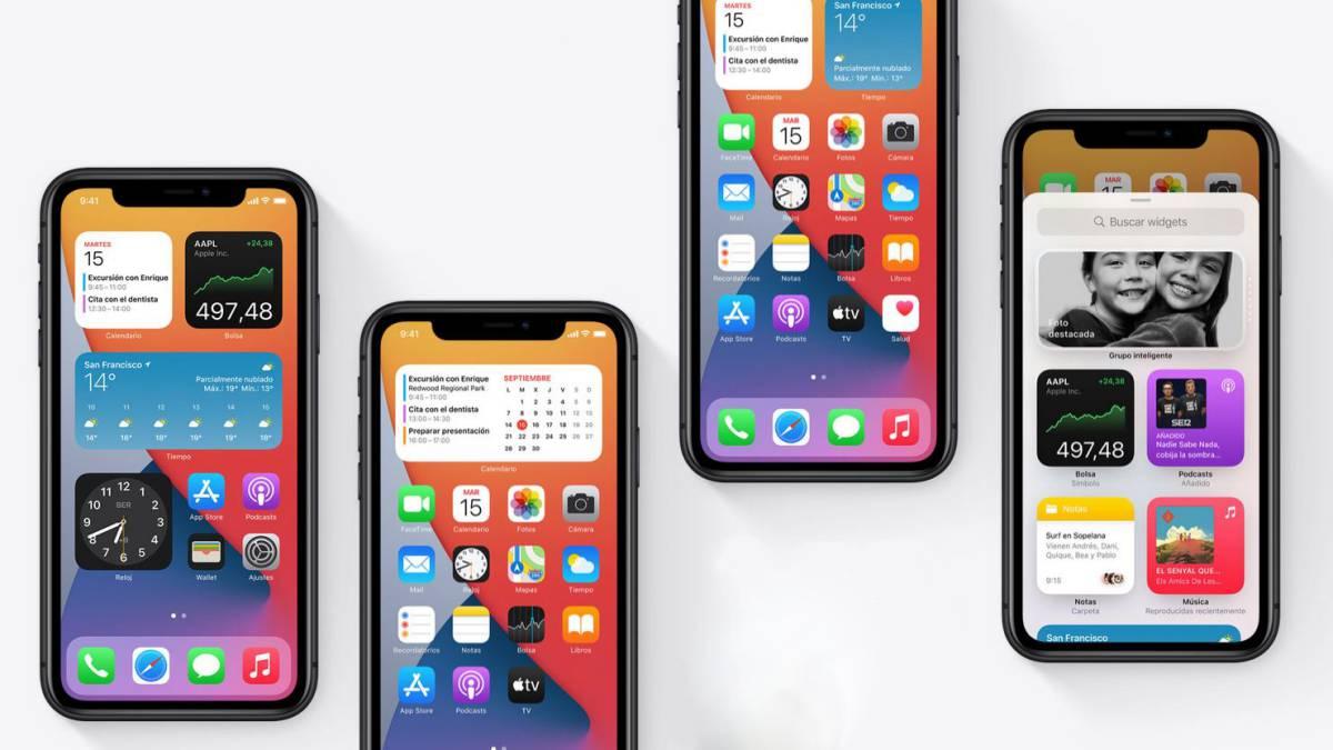 Apple actualiza iOS 14 que resuelve un fallo en el sistema