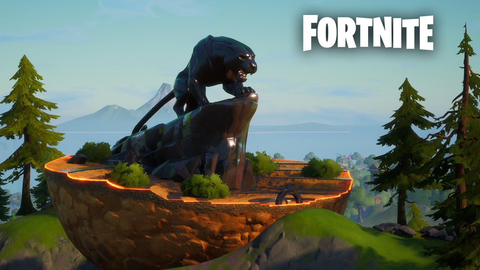 Estatua de Black Panther de Fortnite estuvo planificada