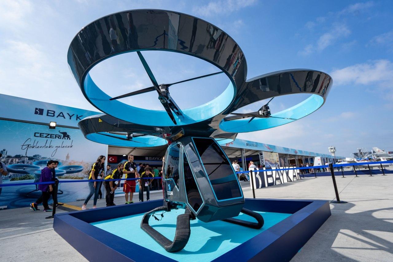 Cezeri, el primer automóvil volador de Turquía, completa con éxito la prueba de vuelo
