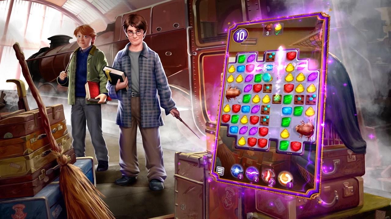 Harry Potter: Puzzles & Spells un juego con mucha magia ahora para Android