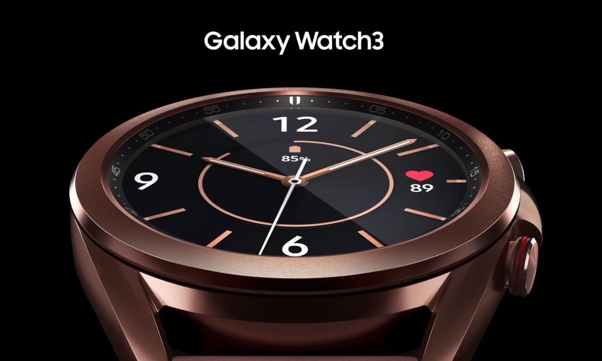 Samsung Galaxy Watch 3 en titanio llega a EE.UU El 2 de octubre