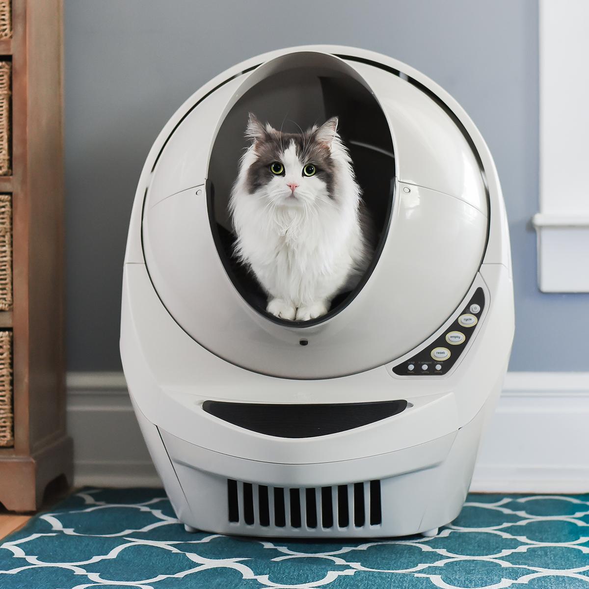 Litter-Robot III el arenero inteligente que evitará que cambies la arena de tu gato