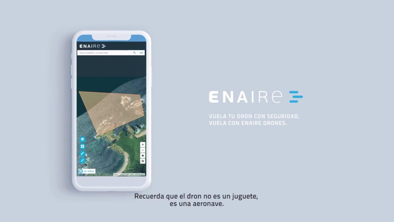 Enaire Drones, la app que te permite saber en que lugar puedes volar tu dron