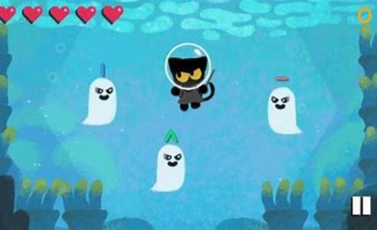 Una secuela de Magic Cat Academy es el juego de Halloween de Google Doodle para este año