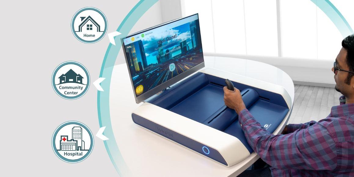 H-Man, el dispositivo de juego para rehabilitar pacientes de ACV en casa