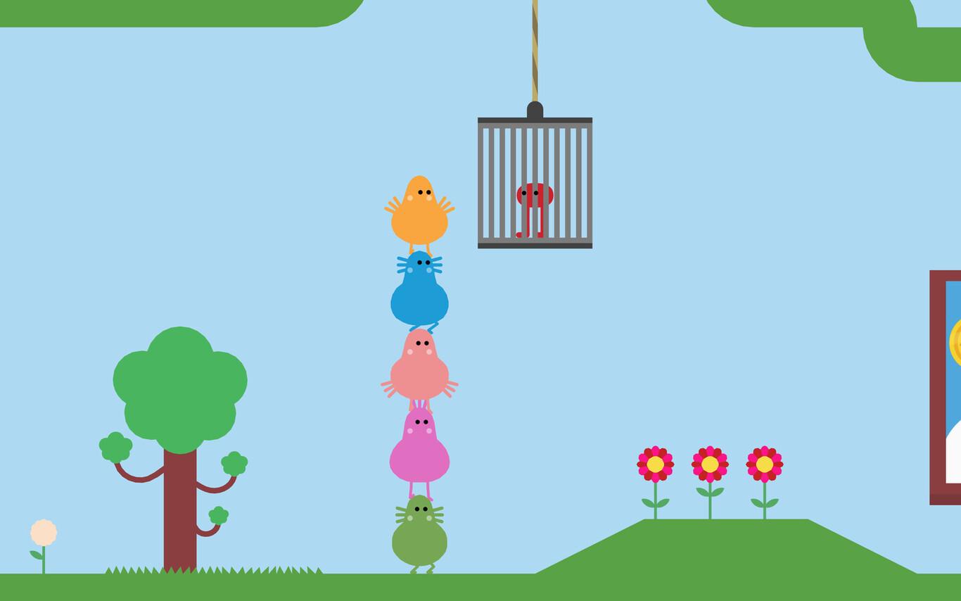Pikuniku, el adorable juego de distopía y revolución, ahora es gratis en Epic Store