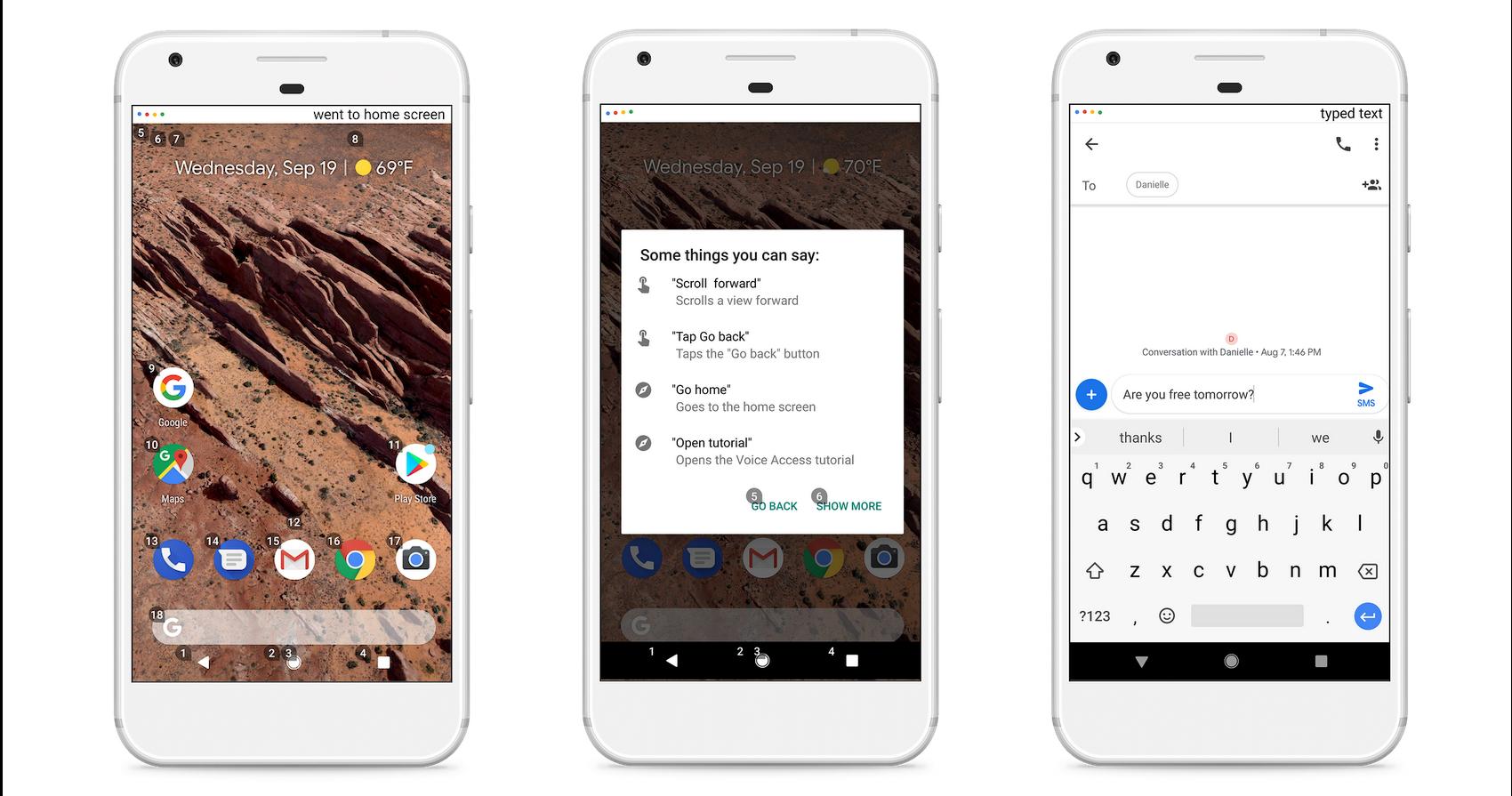 Voice Access, una aplicación de Android para controlar tu móvil con la voz