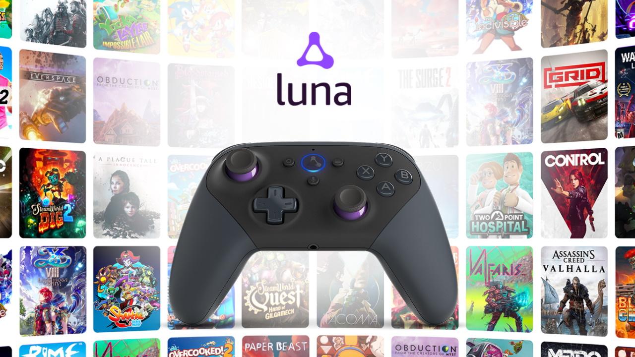 El acceso temprano a Amazon Luna llegó con 50 juegos, pero solo para pocos afortunados