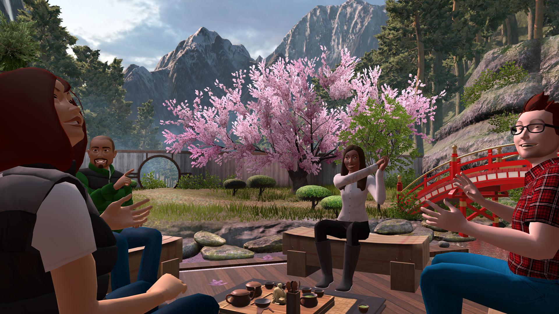 Chatea y comparte con destinos de realidad virtual con vTime XR