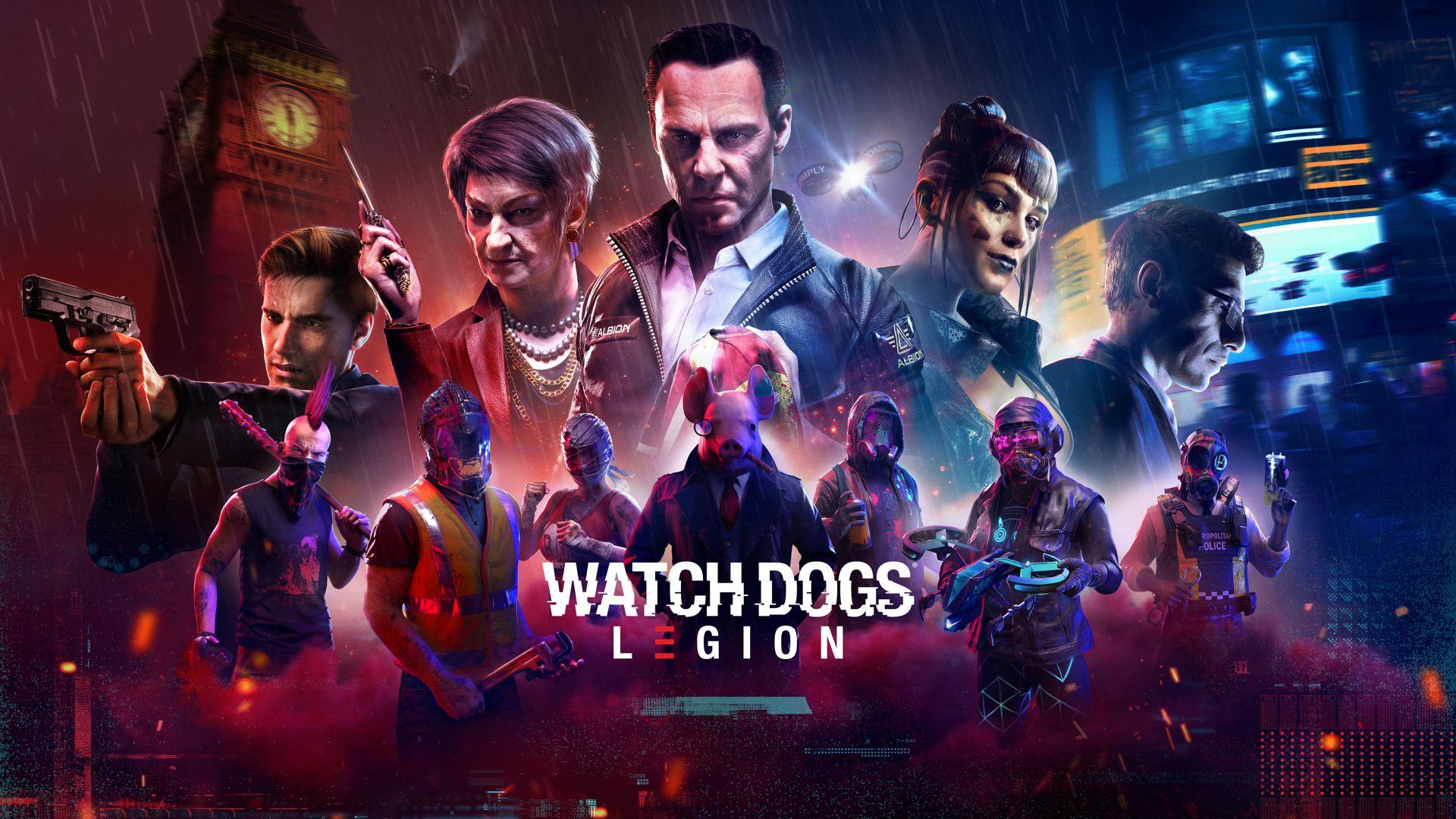 """La promoción de Watch Dogs Legion """"piratea"""" el arte de la caja de otros juegos de Ubisoft"""