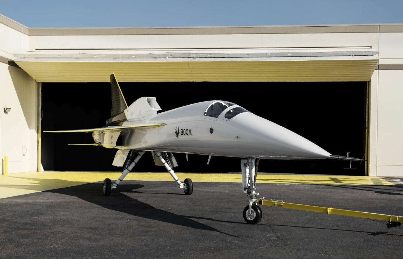 XB-1, un avión supersónico que ya tiene un prototipo funcional