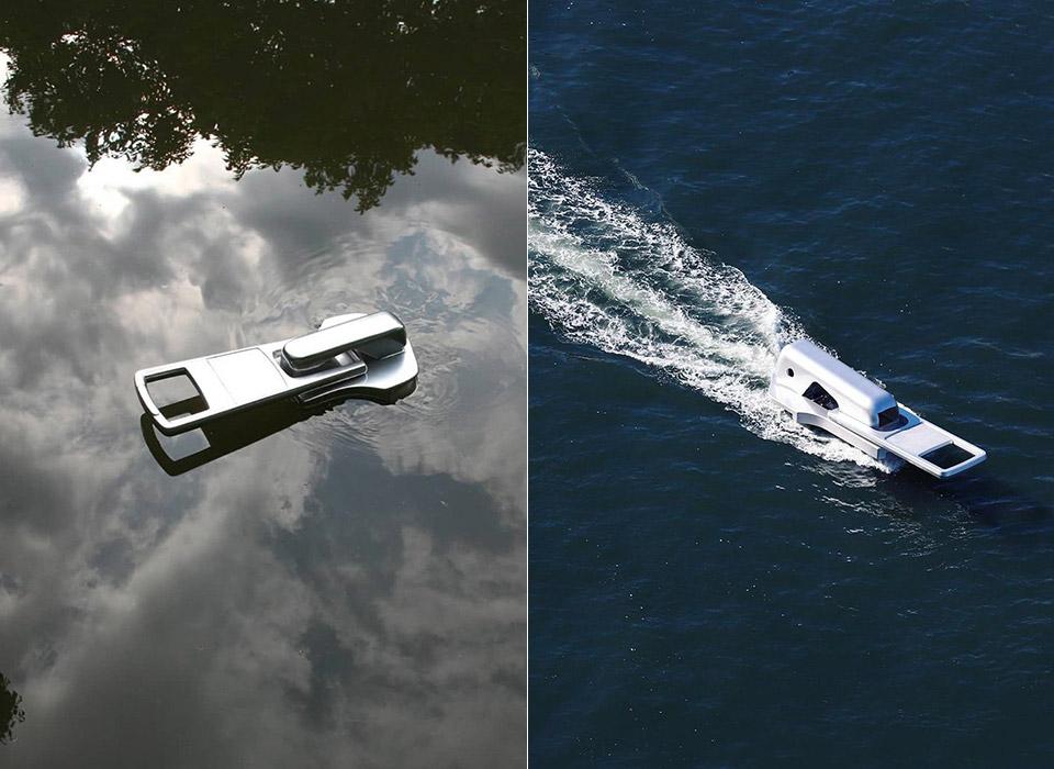 Conoce el extraño barco con diseño de cierre que se ve exactamente como una cremallera gigante