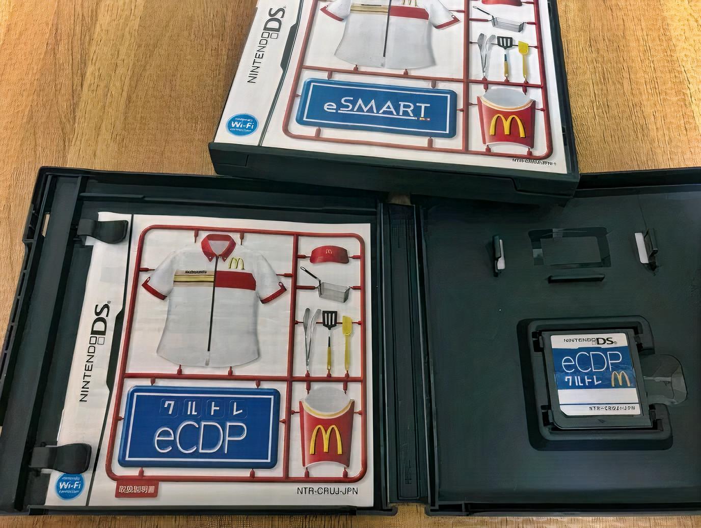 Conoce el fascinante juego de entrenamiento McDonalds Nintendo DS eCDP