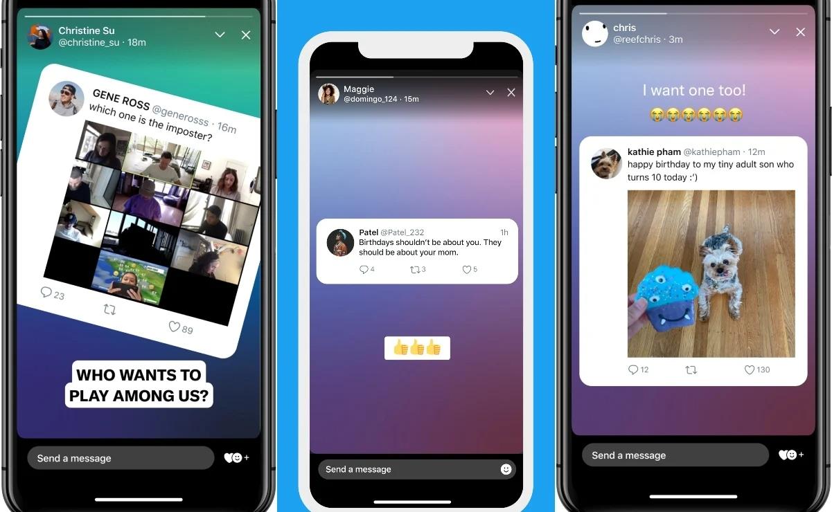 Fleets, las Stories de Twitter al estilo de Instagram