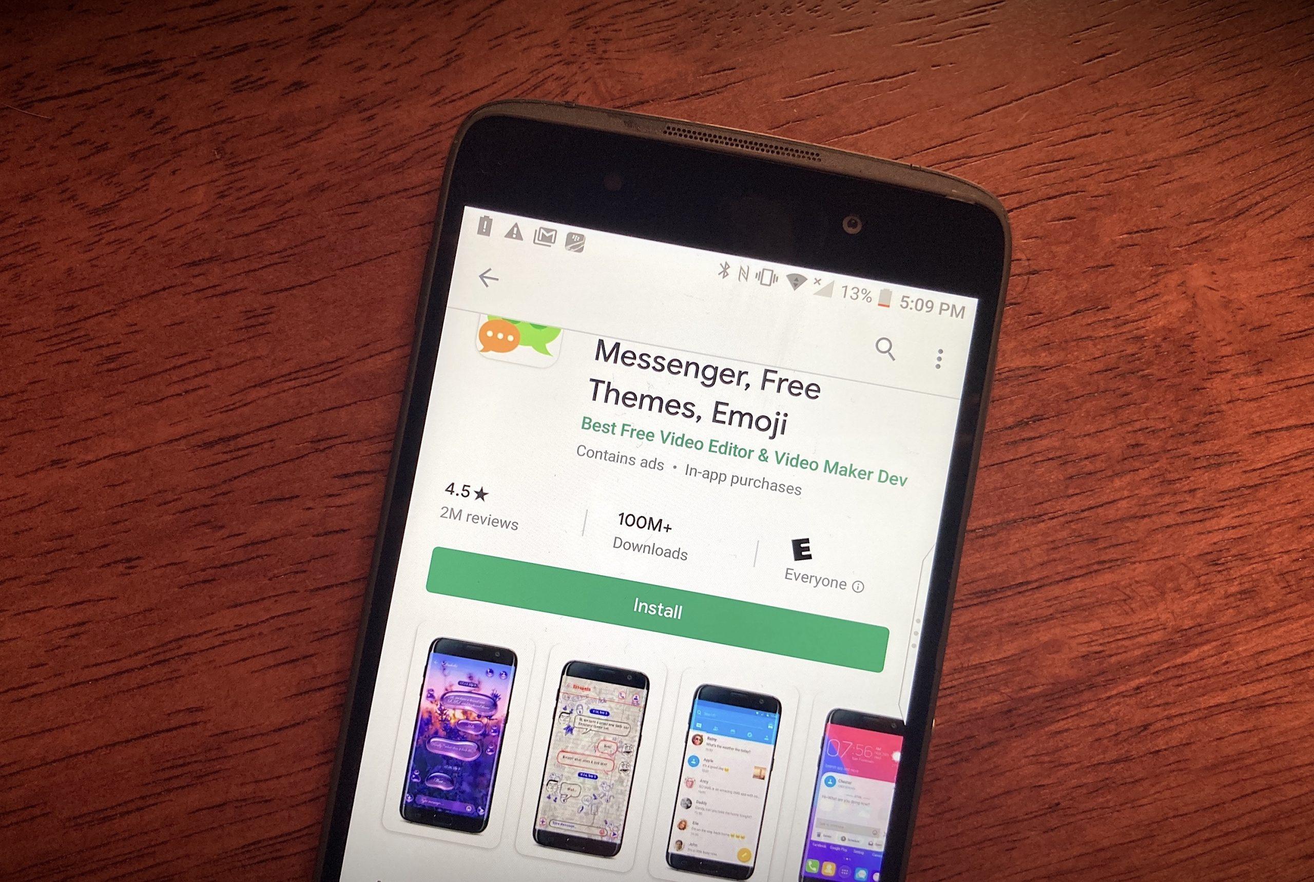 ¡Alerta! Go SMS Pro envía a Internet todos los archivos