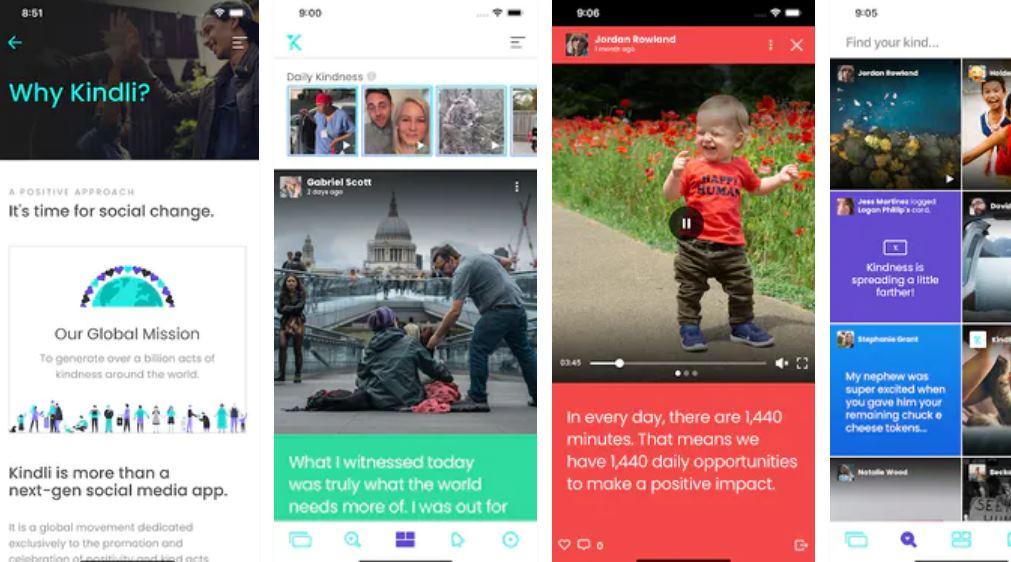 Kindli, una app que promueve las obras de caridad