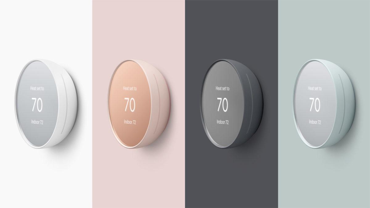 Nest presenta un termostato inteligente colorido y más asequible